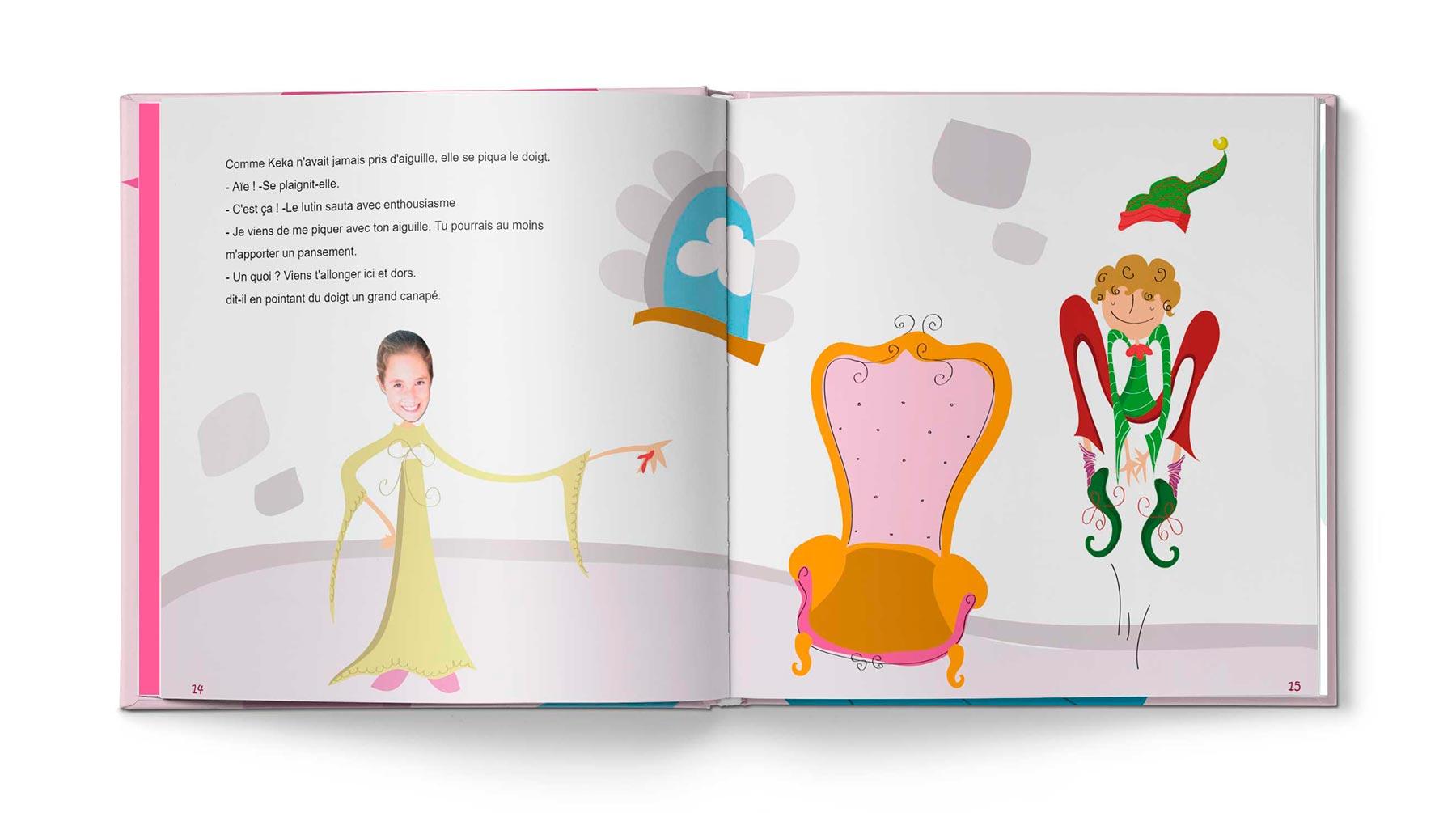 Histoire La princesse et le pansement - Image 7