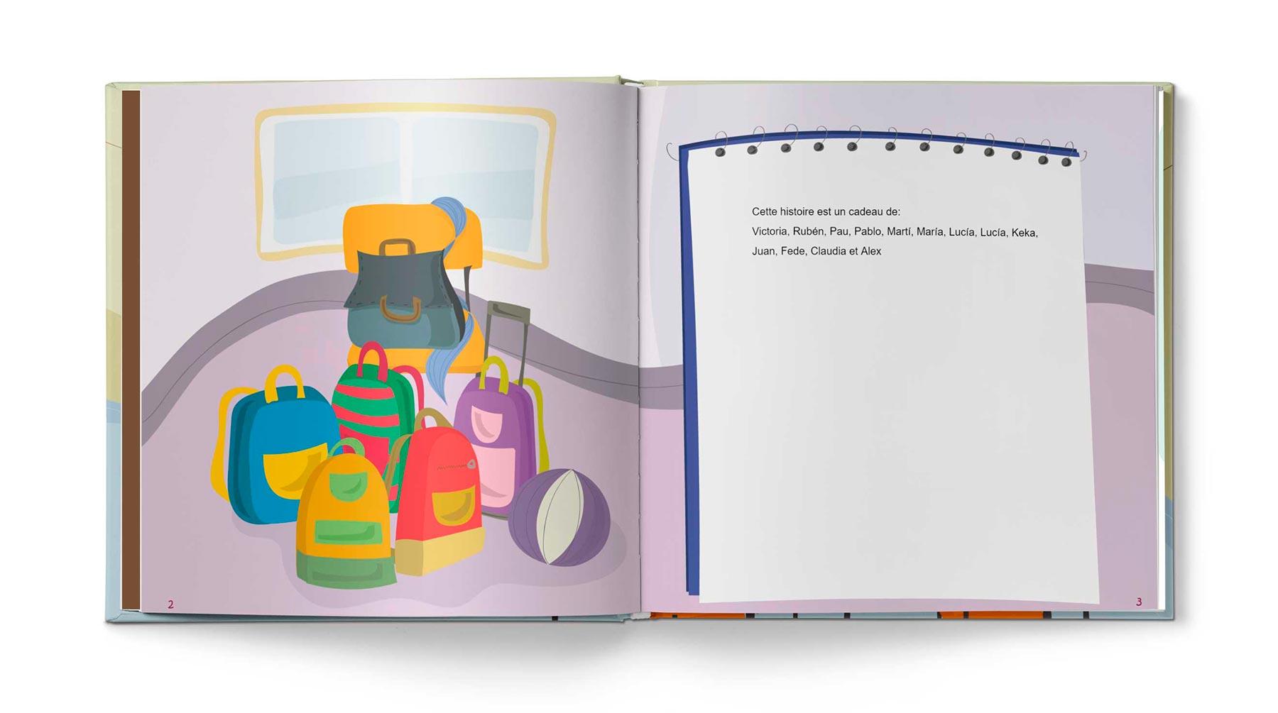 Histoire Le livre d'école - Image 1