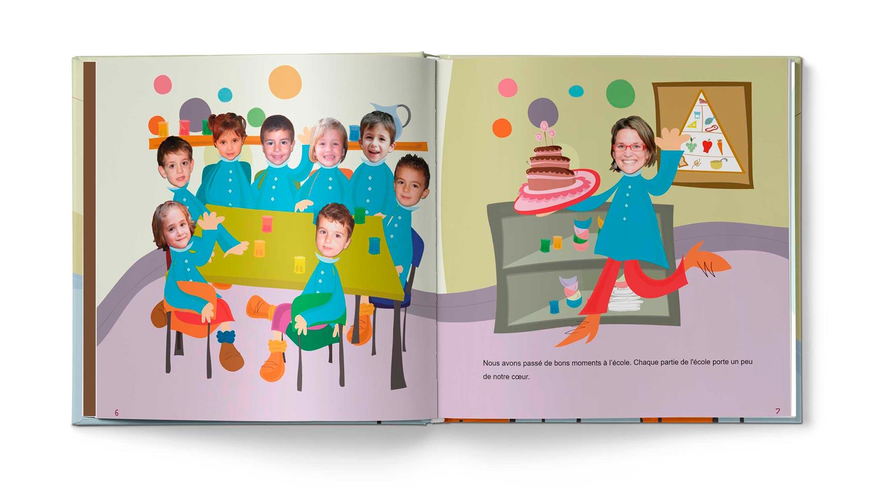 Histoire Le livre d'école - Image 3